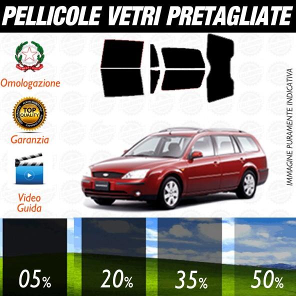 Ford Mondeo Sw dal 2001 al 2006 Pellicole Oscuramento Vetri Posteriori Auto Pre Tagliate a Misura