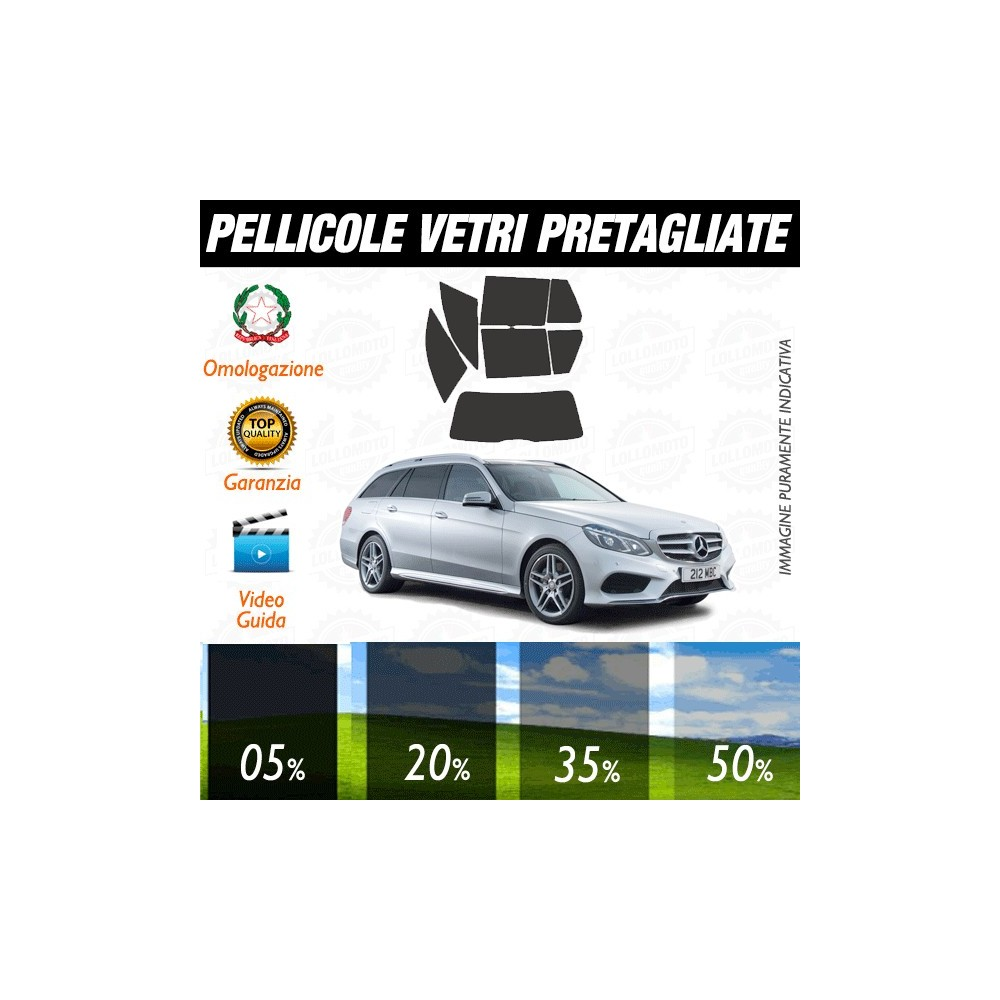 Mercedes E Sw 11-15 Pellicole Oscuramento Vetri Auto Pre
