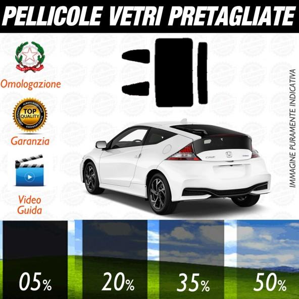 Honda Cr-Z dal 2010 ad OGGI Pellicole Oscuramento Vetri Auto Pre Tagliate a Misura