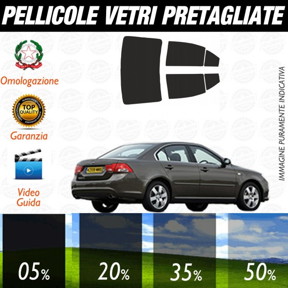 Kia Magentis dal 2006 al 2010 Pellicole Oscuramento Vetri Auto Pre Tagliate a Misura