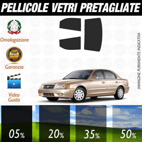 Kia Magentis dal 2002 al 2006 Pellicole Oscuramento Vetri Auto Pre Tagliate a Misura