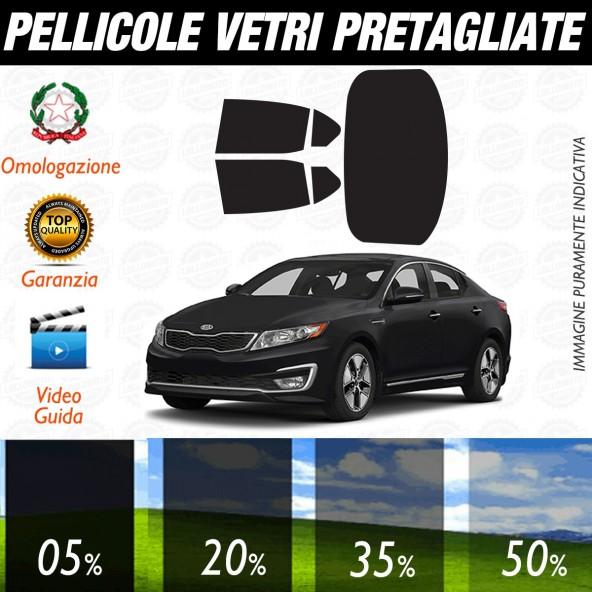 Kia Optima dal 2012 al 2016 Pellicole Oscuramento Vetri Auto Pre Tagliate a Misura