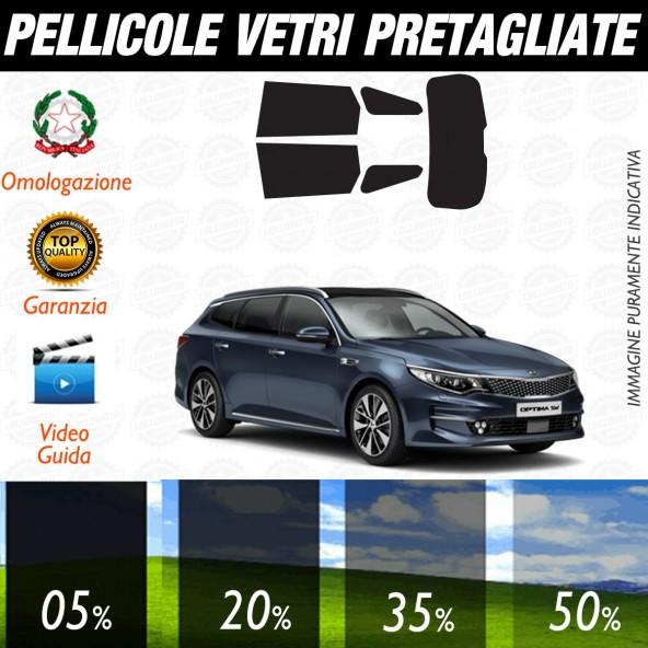 Kia Optima Sw dal 2017 ad OGGI Pellicole Oscuramento Vetri Auto Pre Tagliate a Misura