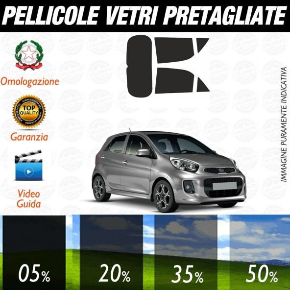 Kia Picanto dal 2011 al 2016 Pellicole Oscuramento Vetri Auto Pre Tagliate a Misura
