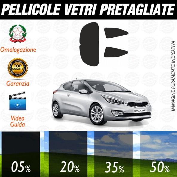 Kia Pro ceed dal 2013 ad OGGI Pellicole Oscuramento Vetri Auto Pre Tagliate a Misura