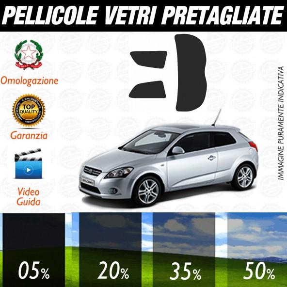 Kia Pro ceed 3P dal 2007 al 2010 Pellicole Oscuramento Vetri Auto Pre Tagliate a Misura