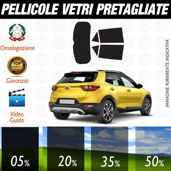 Kia Stonic dal 2017 ad OGGI Pellicole Oscuramento Vetri Auto Pre Tagliate a Misura