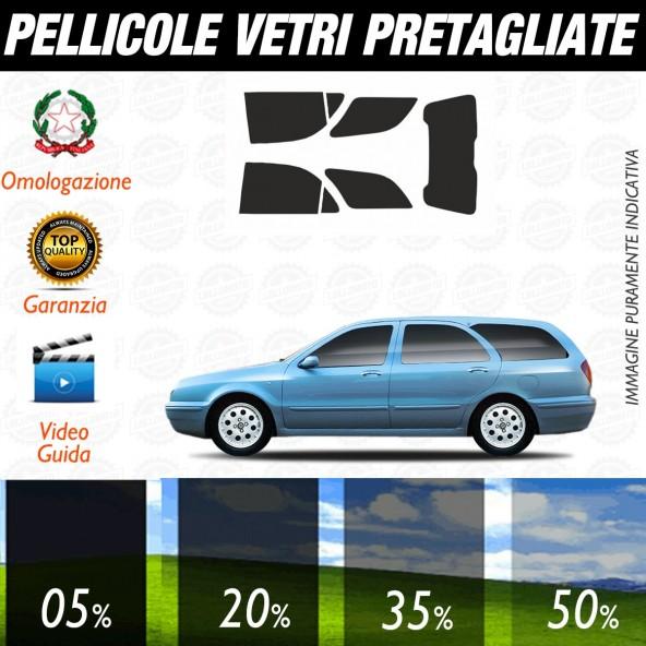 Lancia Lybra Sw dal 1999 al 2004 Pellicole Oscuramento Vetri Auto Pre Tagliate a Misura
