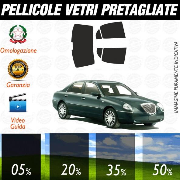 Lancia Thesis dal 2001 al 2004 Pellicole Oscuramento Vetri Auto Pre Tagliate a Misura