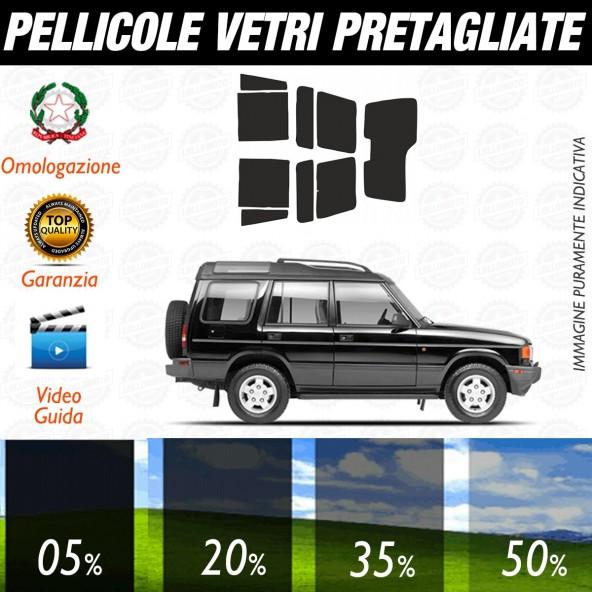 Land Rover Discovery dal 1999 al 2004 Pellicole Oscuramento Vetri Auto Pre Tagliate a Misura