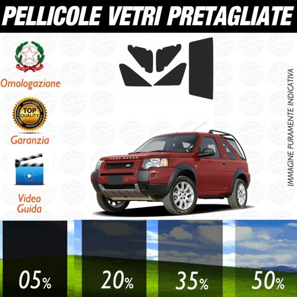 Land Rover Freelander 3P dal 1996 al 2006 Pellicole Oscuramento Vetri Auto Pre Tagliate a Misura