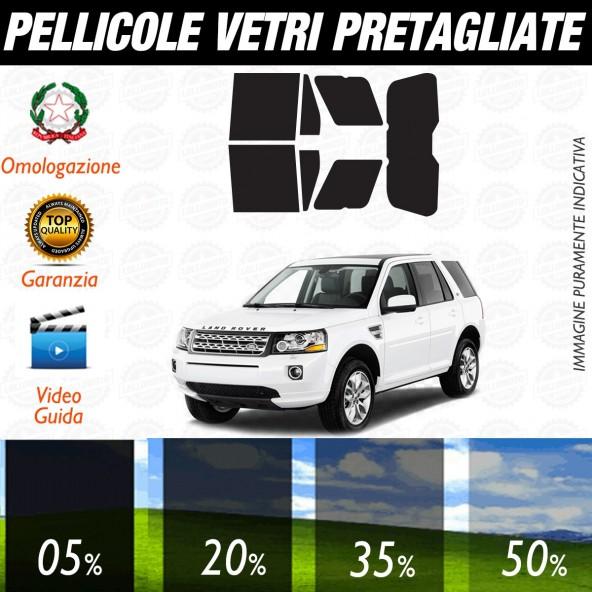 Land Rover Freelander 5P dal 2006 ad OGGI Pellicole Oscuramento Vetri Auto Pre Tagliate a Misura