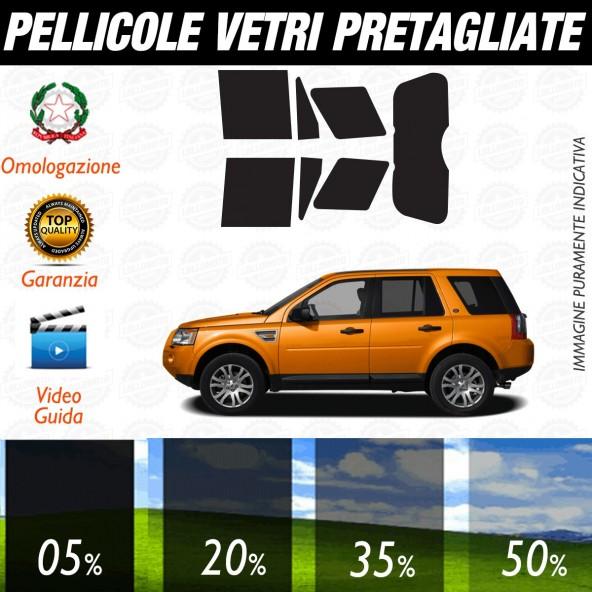Land Rover LR2 dal 2008 ad OGGI Pellicole Oscuramento Vetri Auto Pre Tagliate a Misura