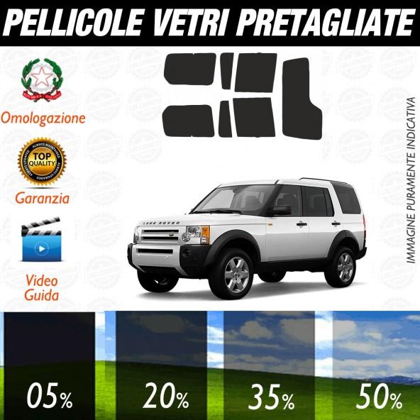 Land Rover LR3 dal 2005 ad OGGI Pellicole Oscuramento Vetri Auto Pre Tagliate a Misura