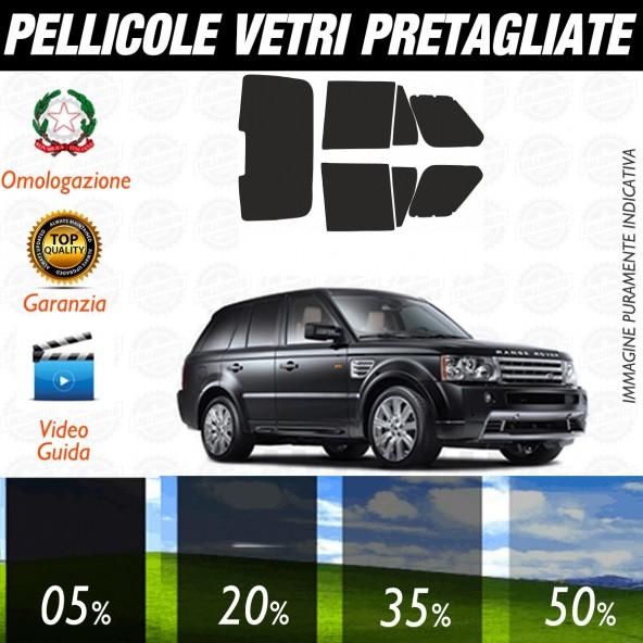 Land Rover Range Rover Sport dal 2007 al 2009 Pellicole Oscuramento Vetri Auto Pre Tagliate a Misura