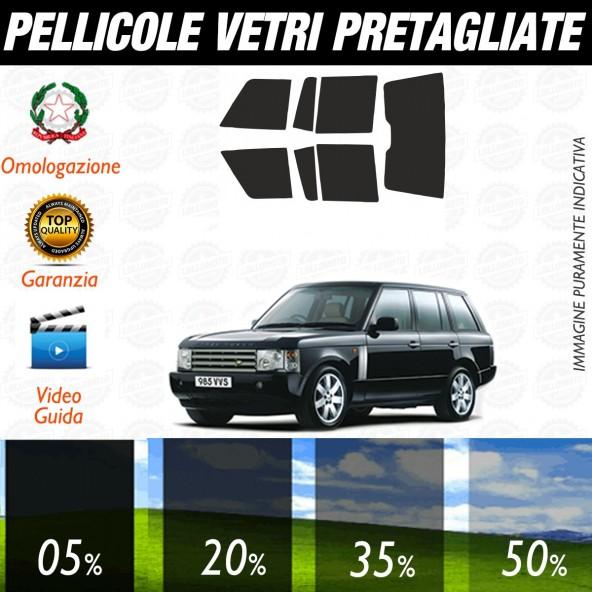 Land Rover Range Rover Sport dal 2005 al 2006 Pellicole Oscuramento Vetri Auto Pre Tagliate a Misura