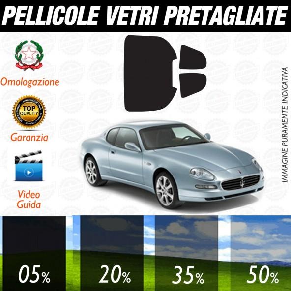 Maserati Coupè dal 2002 al 2007 Pellicole Oscuramento Vetri Auto Pre Tagliate a Misura
