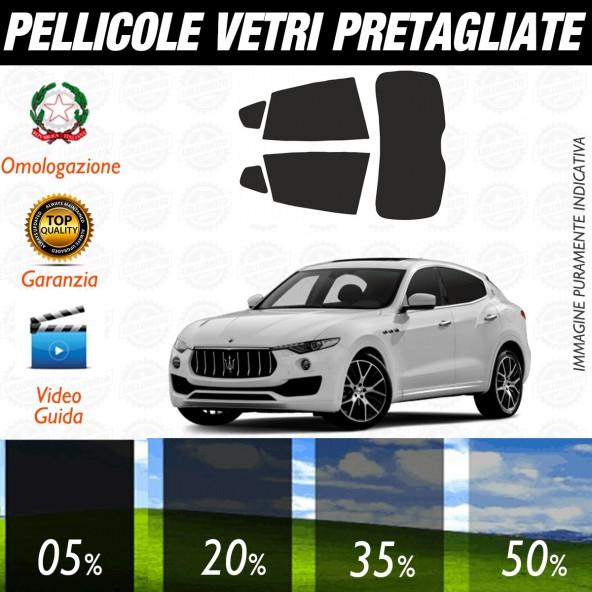 Maserati Levante dal 2016 ad OGGI Pellicole Oscuramento Vetri Auto Pre Tagliate a Misura