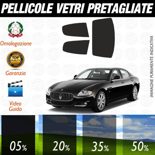 Maserati Quattroporte dal 2008 al 2013 Pellicole Oscuramento Vetri Auto Pre Tagliate a Misura