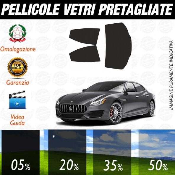 Maserati Ghibly dal 2013 ad OGGI Pellicole Oscuramento Vetri Auto Pre Tagliate a Misura