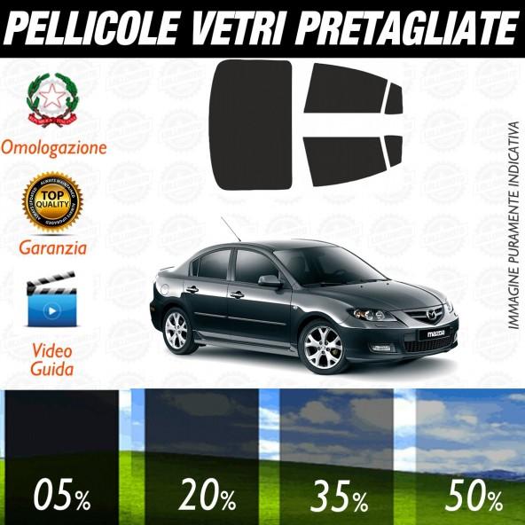 Mazda 3 dal 2003 al 2006 Pellicole Oscuramento Vetri Auto Pre Tagliate a Misura