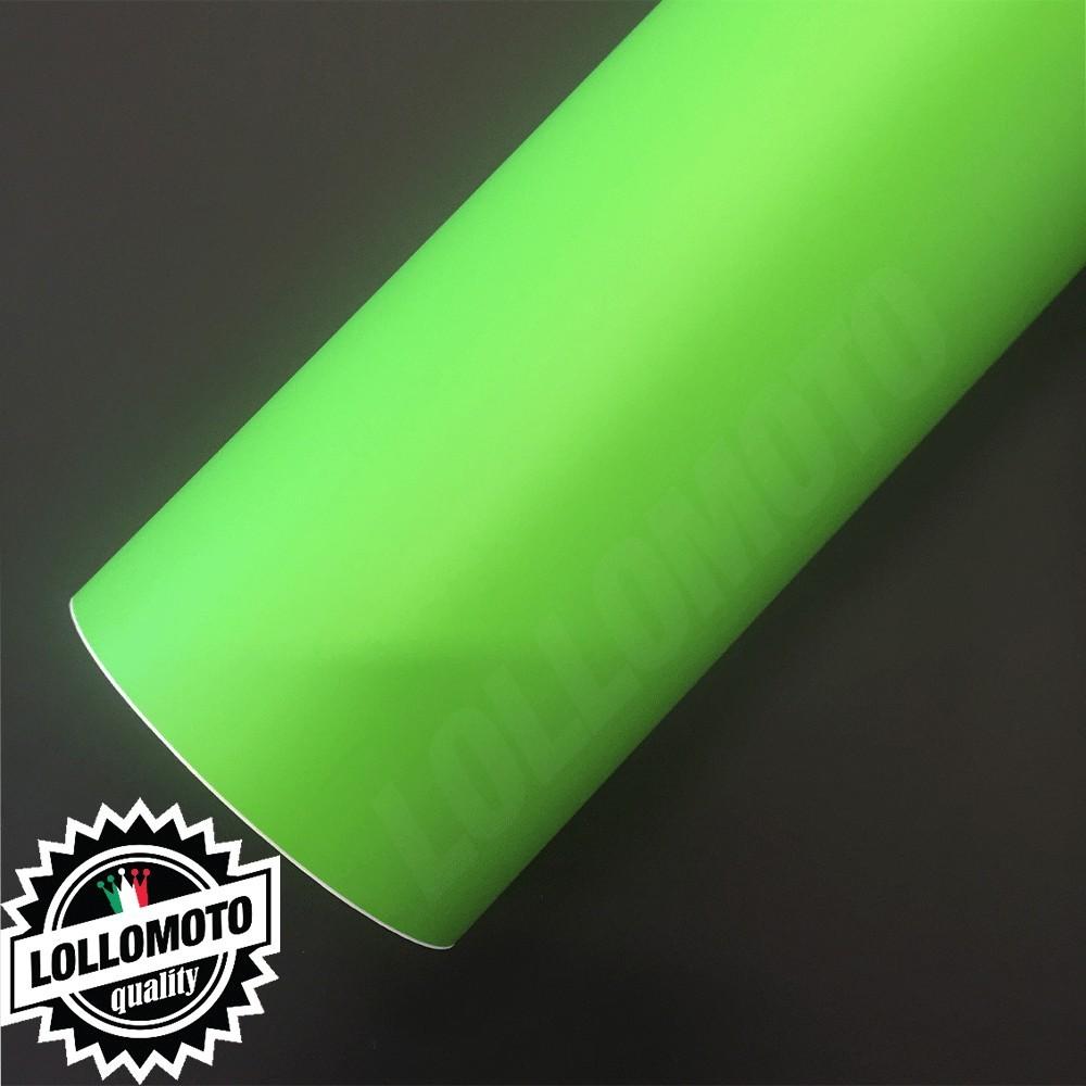 Verde Mela Opaco Pellicola Adesiva Rivestimento Auto Car