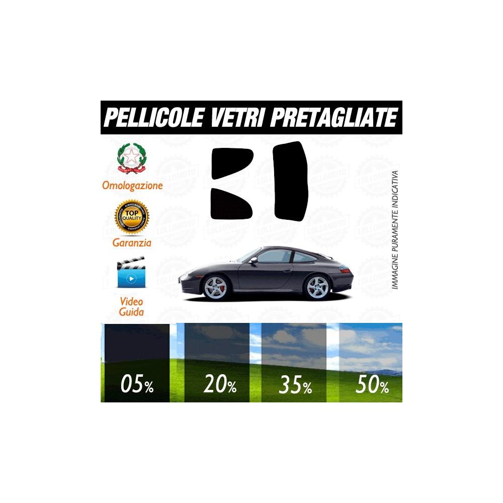 Porsche Carrera 03-06 Pellicole Oscuramento Vetri Auto Pre