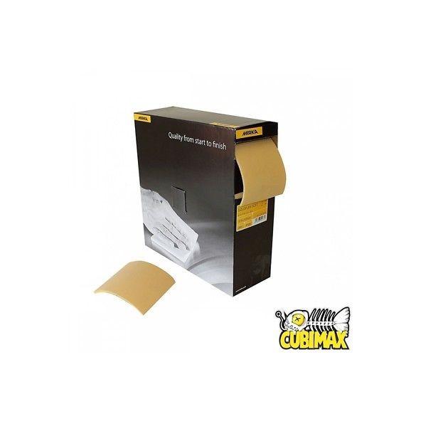 CUBIMAX 10 Pezzi di Carta Abrasiva da 115mm x 115mm per Cubicatura e Verniciatur