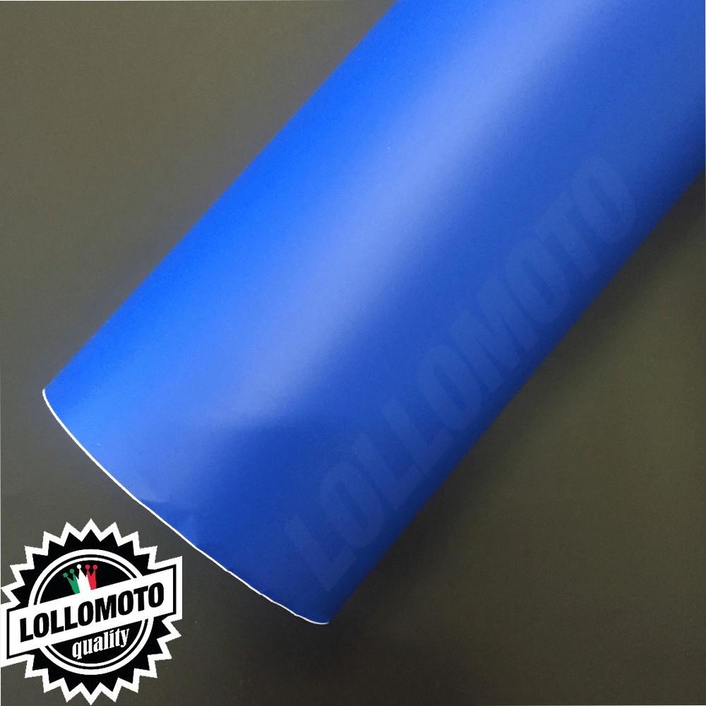 Pellicola Blu Opaco Adesiva Rivestimento Auto Car Wrapping
