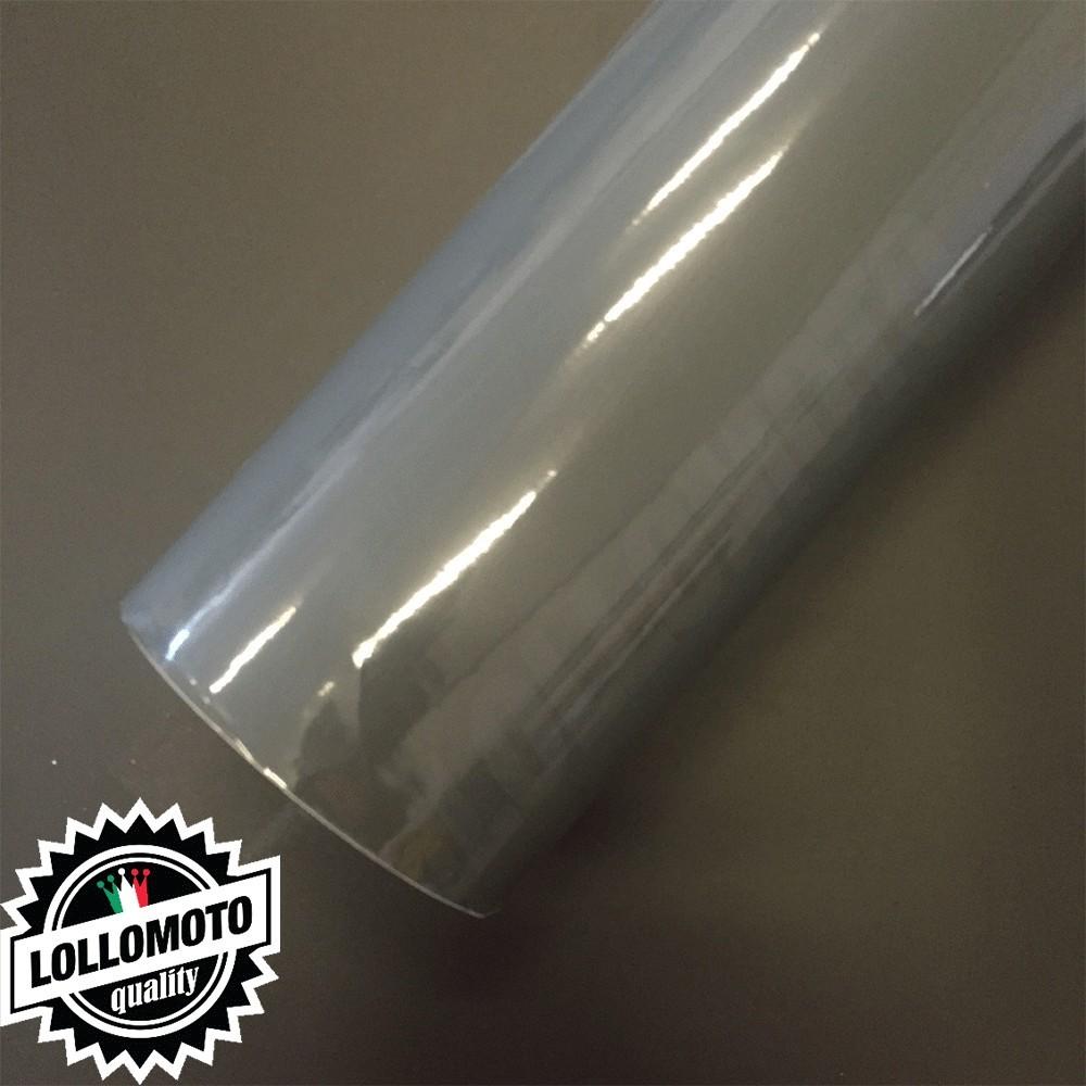 Grigio Lucido Pellicola Adesiva Rivestimento Auto Car Wrapping
