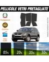 Volkswagen Touareg 08-10 Pellicole Oscuramento Vetri Auto Pre