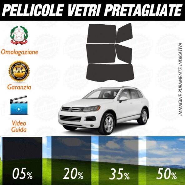Volkswagen Touareg dal 2010 ad OGGI Pellicole Oscuramento Vetri Auto Pre Tagliate a Misura