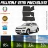 Volkswagen Touareg 2011 Pellicole Oscuramento Vetri Auto Pre