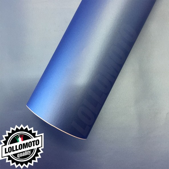 Blu Opaco Pellicola Adesiva Rivestimento Auto Car Wrapping