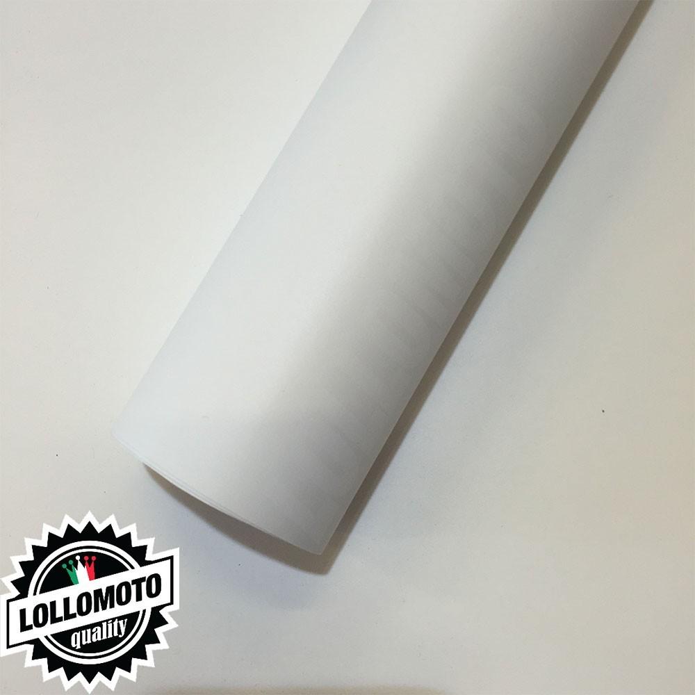 Bianco Opaco Pellicola Adesiva Rivestimento Auto Car Wrapping