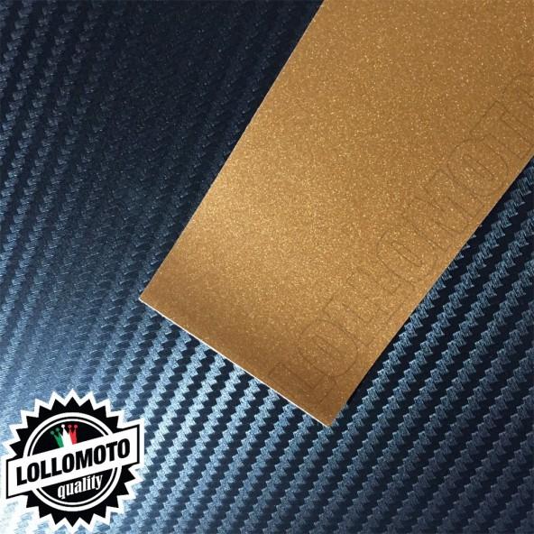 Canyon Bronze Opaco Satinato Metal Pellicola APA® Cast Professionale Adesiva Rivestimento Car Wrapping