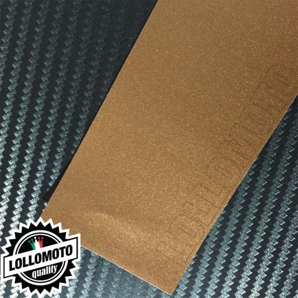 Mocha Marrone Opaco Satinato Metal Pellicola APA® Cast Professionale Adesiva Rivestimento Car Wrapping