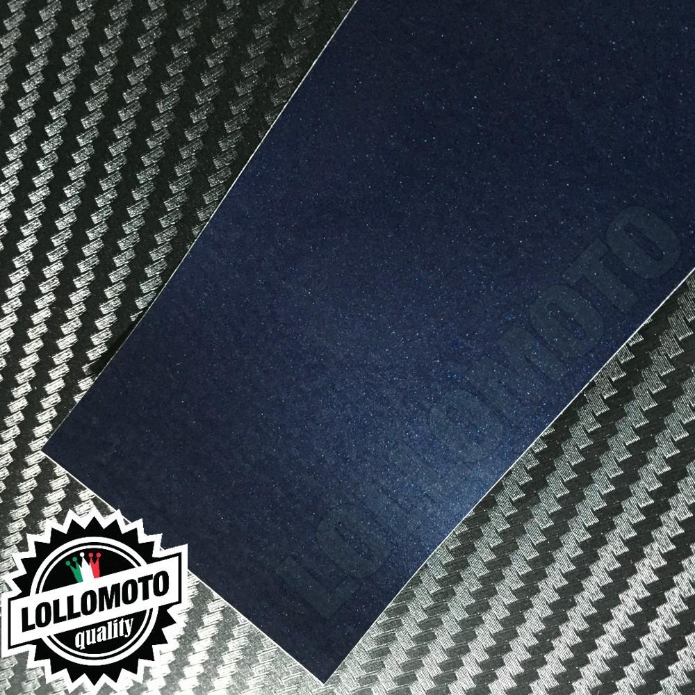 Midnight Blue Opaco Satinato Metal Pellicola Cast Professionale