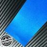 Voltage Blue Opaco Satinato Metal Pellicola Cast Professionale