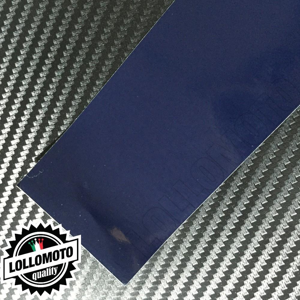 Navy Blu Lucido Pellicola Cast Professionale Adesiva