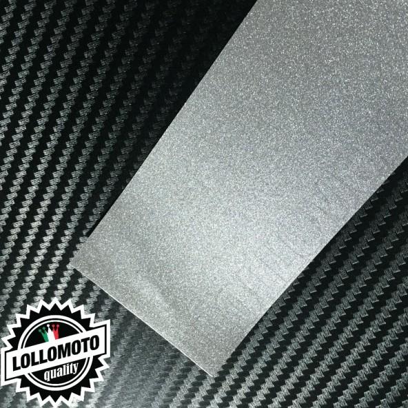 Comet Silver Metal Lucido Pellicola Cast Professionale Adesiva