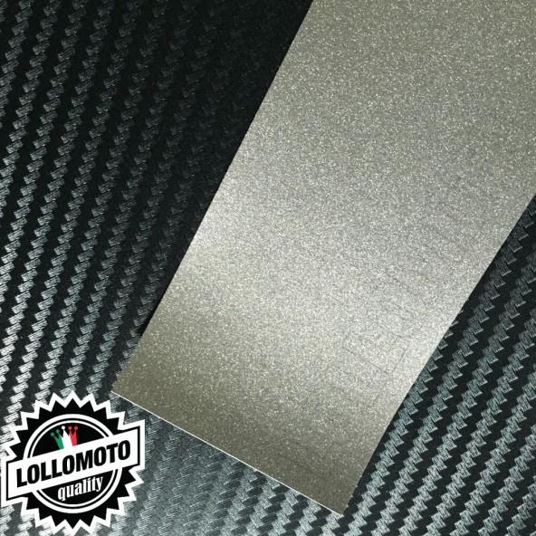 Mist Silver Metal Lucido Pellicola APA® Cast Professionale Adesiva Rivestimento Car Wrapping