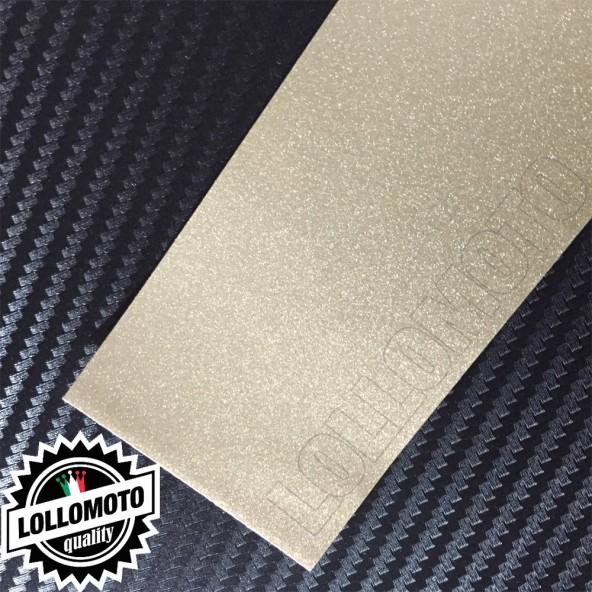 Champagne Bronze Metal Lucido Grigio Pellicola APA® Cast Professionale Adesiva Rivestimento Car Wrapping