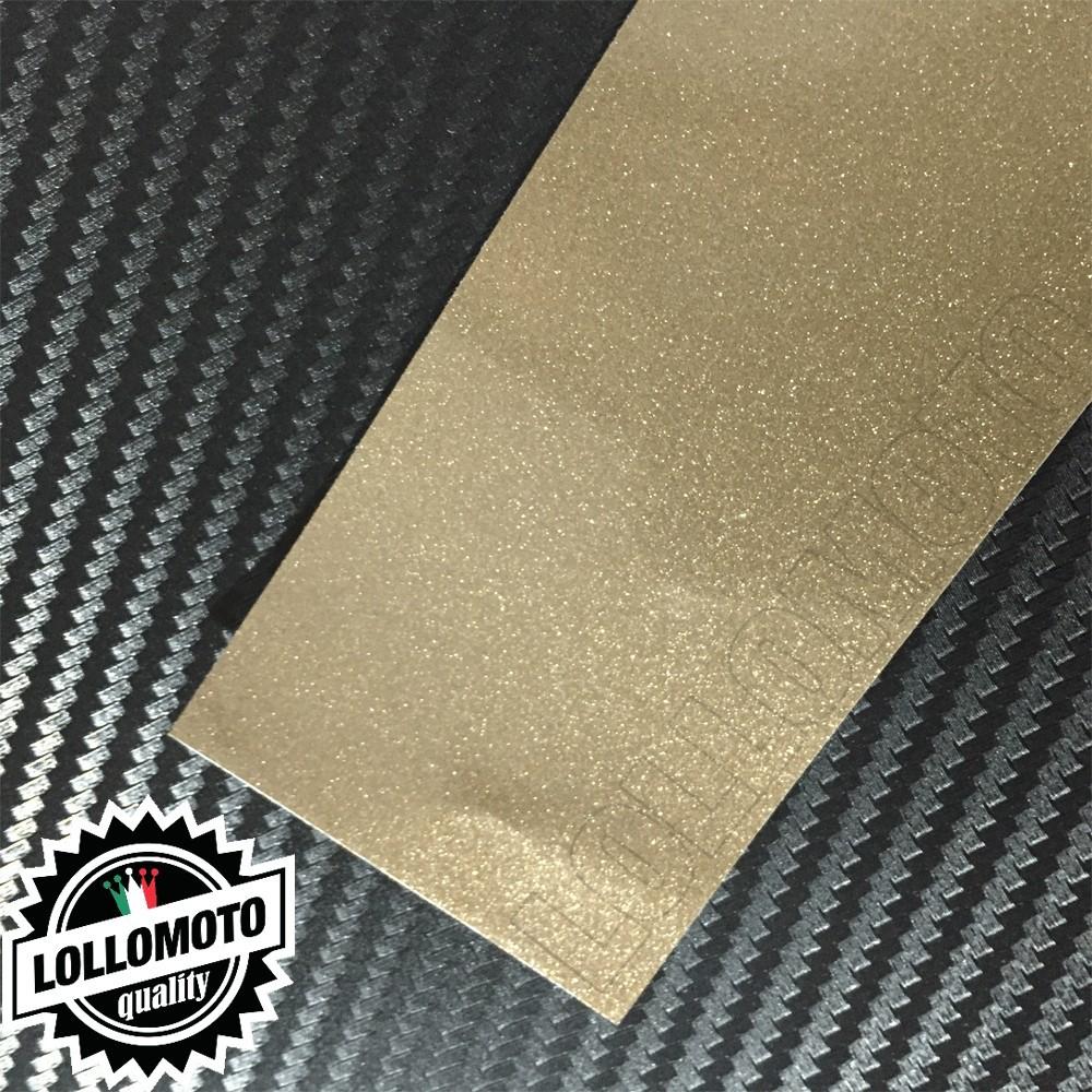 Silica Bronze Metal Lucido Pellicola Cast Professionale Adesiva
