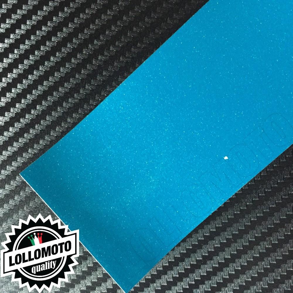 Pacific Green Metal Lucido Pellicola Cast Professionale Adesiva
