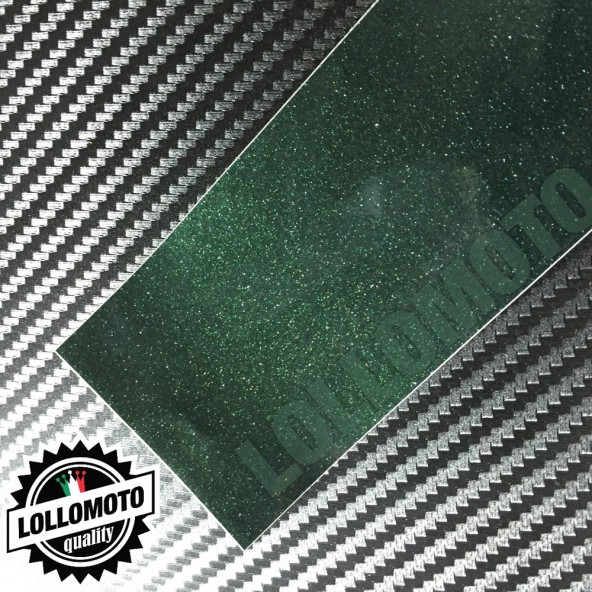 Verde British Metal Lucido Pellicola Cast Professionale Adesiva