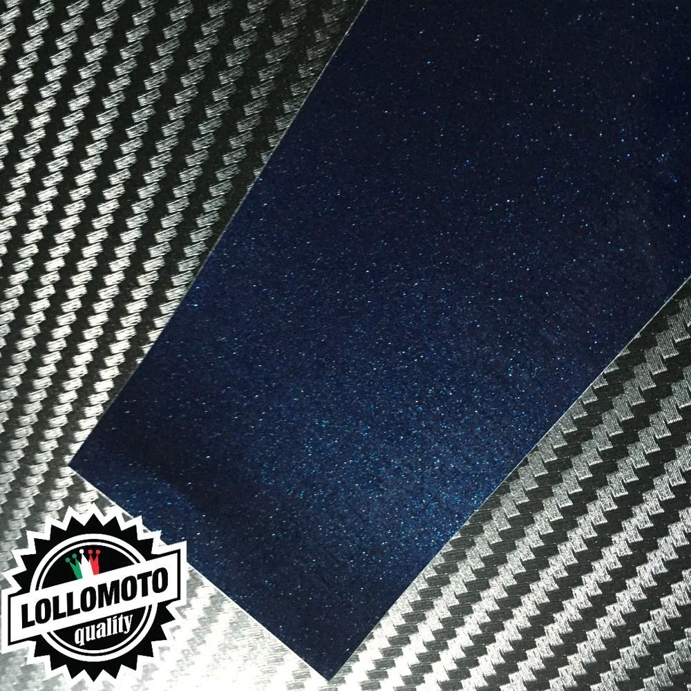 Blu Marine Metal Lucido Pellicola Cast Professionale Adesiva