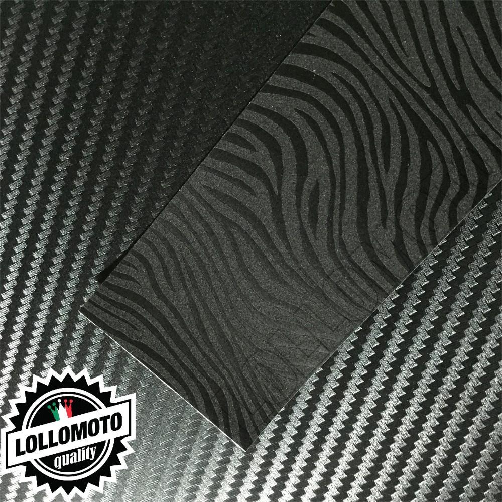 Wave Zebrato Nero Opaco Mimetico Pellicola Cast Professionale