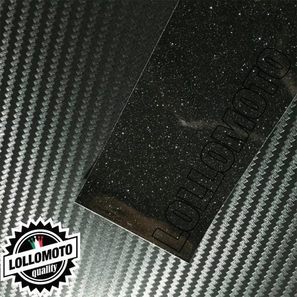 Nero Perlato Glitter Lucido Pellicola APA® Cast Professionale Adesiva Rivestimento Car Wrapping