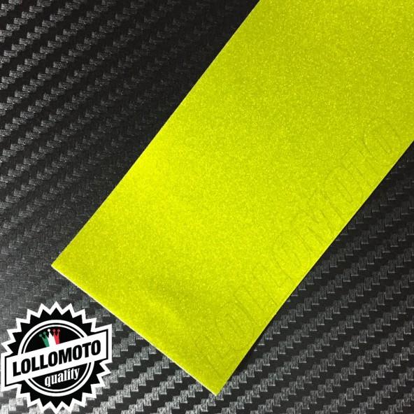 Candy Lime Giallo Opaco Pellicola APA® Cast Professionale Adesiva Rivestimento Car Wrapping